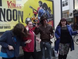 Me, Ceri, George Maguire & Jess Photo credit: Sandie Smith