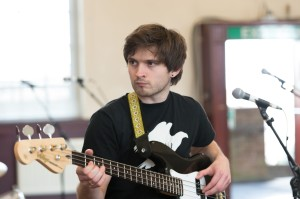 Ned Derrington in rehearsals. Photograph by Dominic Clemence.