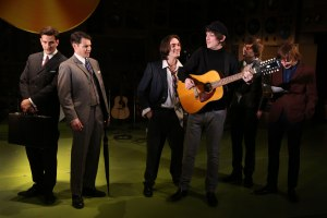 Dominic Tighe, Tam Williams, George Maguire, John Dagleish, Ned Derrington and Adam Sopp in Sunny Afternoon. Photograph by Dominic Clemence.