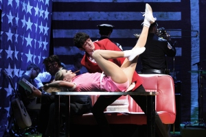 Carly Anderson and John Dagleish in Sunny Afternoon. Photograph by Kevin Cummins.