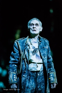 Karl Johnson in Hamlet Photograph by Johan Persson