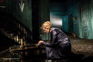 Anastasia Hille in Hamlet Photograph by Johan Persson