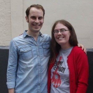 Tenuous, but... I had to show off my new t-shirt alongside a member of the cast, didn't I?