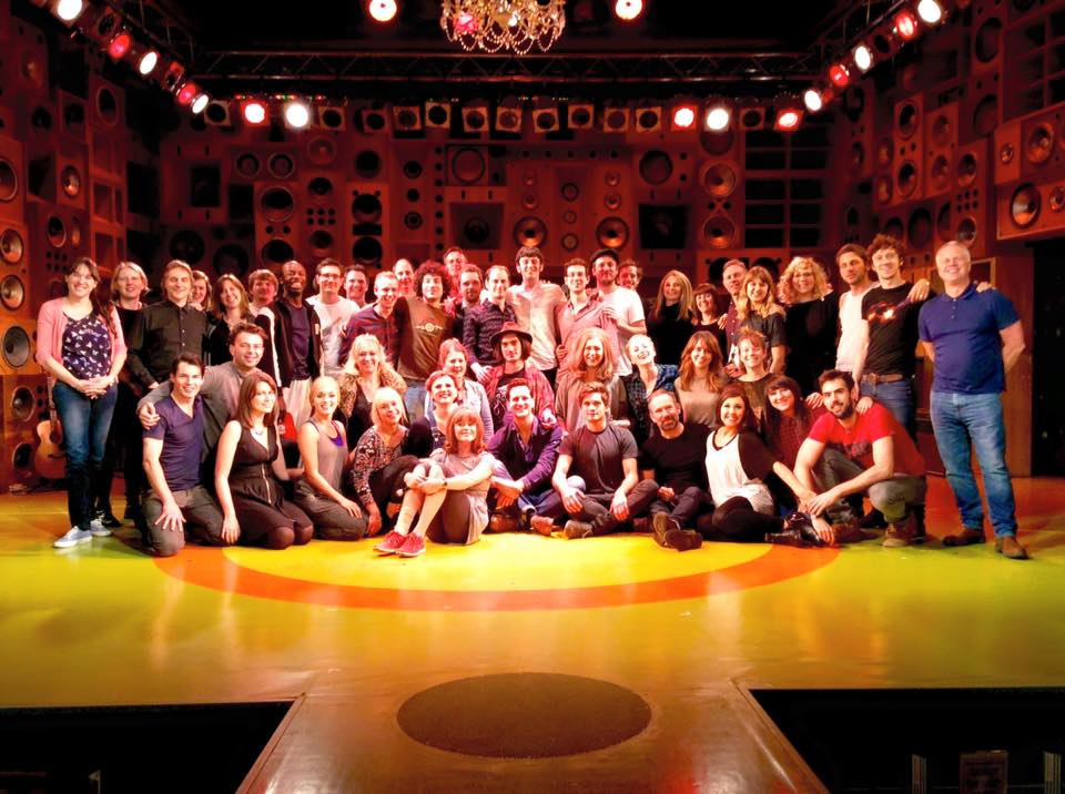 Full company of Sunny Afternoon Photo credit: @KinksMusical