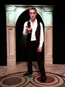 Edward Fisher in Volpone Photo credit: Scena Mundi