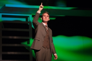 Adam Jowett in The Great Gatsby Photo credit: Blackeyed Theatre (Alex Harvey-Brown/Mark Holliday)