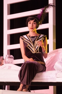 Celeste De Veazey in The Great Gatsby Photo credit: Blackeyed Theatre (Alex Harvey-Brown/Mark Holliday)