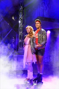Carly Anderson and Samuel Edwards in Xanadu Photo credit: Paul Coltas