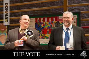 The Vote Paul Chahidi Gerard Horan Donmar