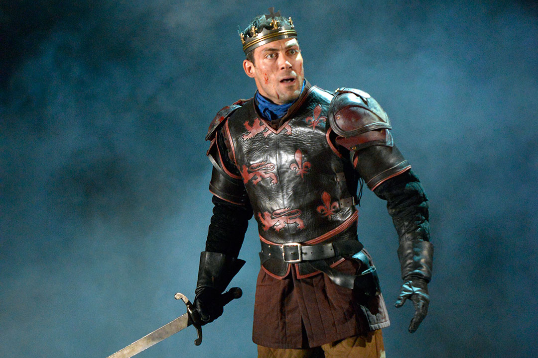 Alex Hassell Henry V Keith Pattison