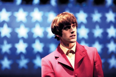 Danny Horn (as Ray Davies)  in Sunny Afternoon. Credit - Kevin Cummins.jpg