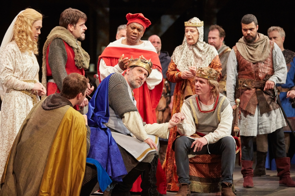 King John at Rose Theatre Kingston.  Photo by Mark Douet _80A9462