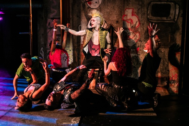 American Idiot The Musical - UK Tour - Lucas Rush (St. Jimmy) - Photo by Darren Bell