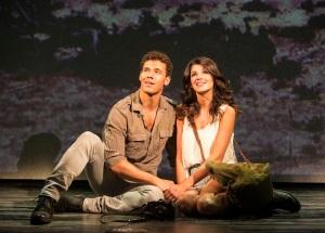 Exposure The Musical - St James Theatre - David Albury (Jimmy) Natalie Anderson (Tara) - Pamela Raith Photography