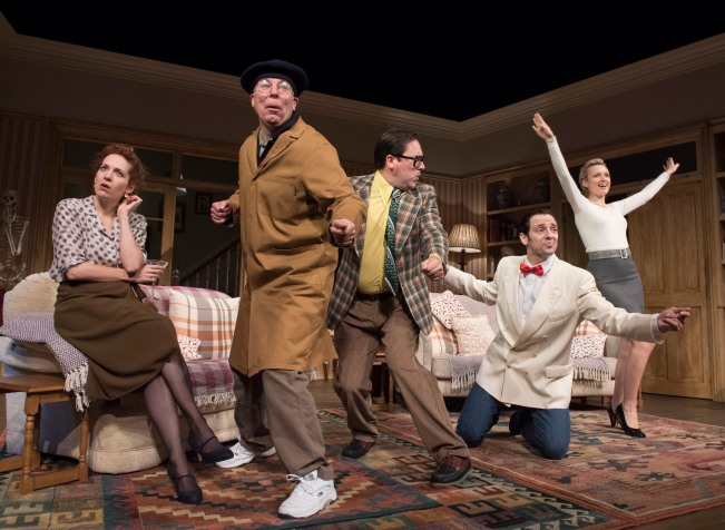 'Dead Funny' Play by Terry Johnson performed at the Vaudeville Theatre, London, UK