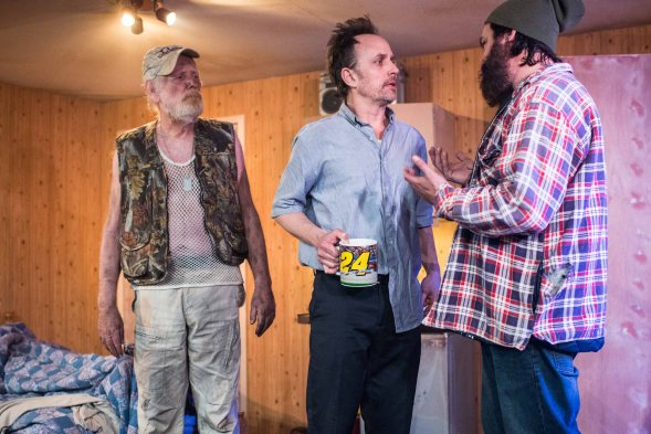 Out Theatre On Fried Meat Ridge Rd. - Michael Wade, Robert Moloney and Keith Stevenson, Trafalgar Studios
