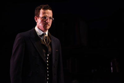 Ashley Sean-Cook in The Strange Case of Dr Jekyll & Mr Hyde, credit Alex Harvey-Brown.