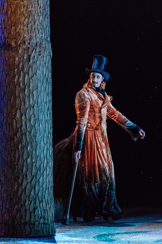 David Langham as The Fox in Pinocchio. Image Manuel Harlan