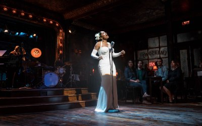 Audra McDonald as Billie Holiday in Lady Day at Emerson's Bar &