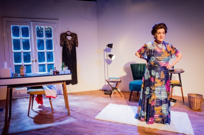 Woman Before A Glass - Lane Robertson - Jermyn Street Theatre - Judy Rosenblatt as Peggy Guggenheim