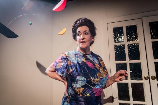 Woman Before A Glass - Lane Robertson - Jermyn Street Theatre - Judy Rosenblatt as Peggy Guggenheim