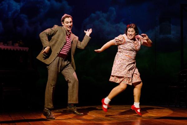 Jos Slovick as Stanley & Beverly Rudd as Beryl in Brief Encounter, credit Steve Tanner