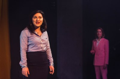Devil With The Blue Dress, The Bunker (Daniella Isaacs and Flora Montgomery) - courtesy of Helen Murray