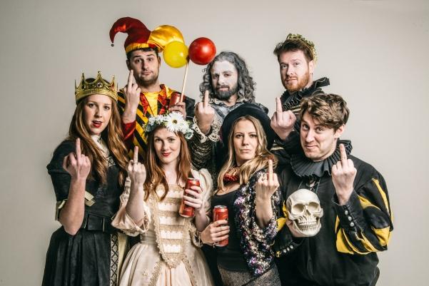 Shit-faced Shakespeare® - Hamlet 2018 - Press Image - ©Rah Petherbridge Photography 2018 - 05 - Lewis Ironside (1)