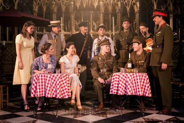 The Much Ado About Nothing company 2 – Photo Scott Rylander