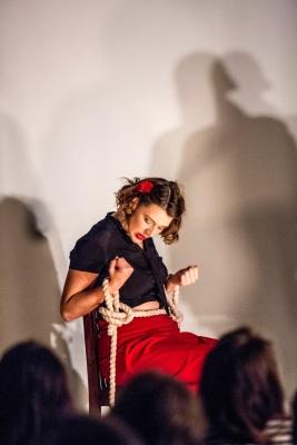 Pop-Up Opera's La Tragédie de Carmen, Chloe Latchmore (photo by Ugo Soffientini) (17)