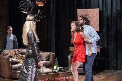 People Like Us, Union Theatre (Courtesy of Paul Nicholas Dyke) (12) Paul Giddings, Gemma-Germaine, Marine Andre, Kamaal Hussain