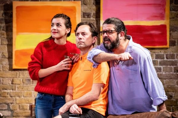 People Like Us, Union Theatre (Courtesy of Paul Nicholas Dyke) (7) Marine Andre, Paul Giddings, Kamaal Hussain