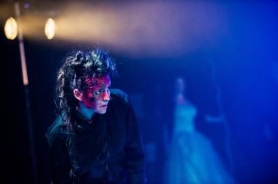 Georgina Barley as Caliban. Shot by Adam Trigg.