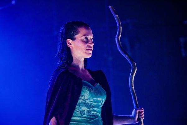 Micha Colombo as Prospero. Shot taken by Adam Trigg.