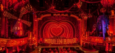 Moulin Rouge - Broadway Set - Al Hirschfeld Theatre