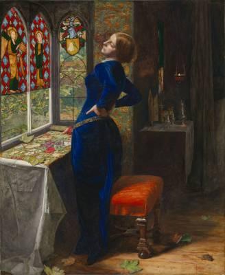 Mariana 1851 by Sir John Everett Millais, Bt 1829-1896
