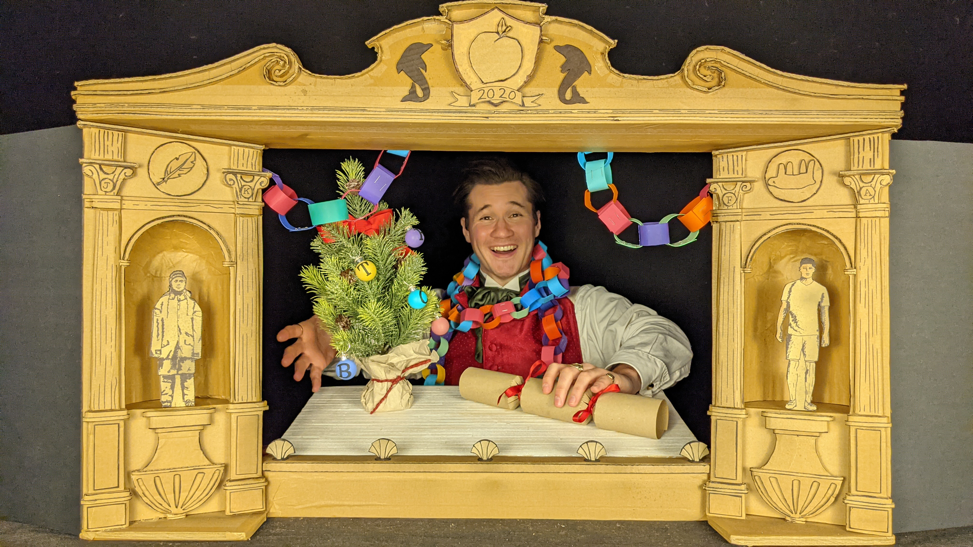 Ian Nicholson, Polka Theatre's A Christmas Carol (1)